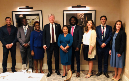 The Cooperative Republic of Guyana and The Kingdom of Norway meet on successful outcomes and final payments to the GRIF