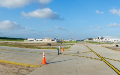 $70M helicopter taxiway commissioned at Ogle airport