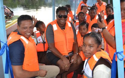Boat donated to students of Dora Primary