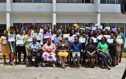 49 Berbice entrepreneurs graduate from First Lady's `Success in Business' workshop