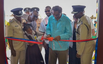 $65M Police Station commissioned in La Parafaite Harmonie
