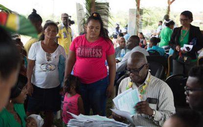 Port Kaituma outreach a success for Citizenship Department