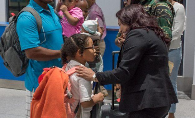Guyana welcomes hurricane victims