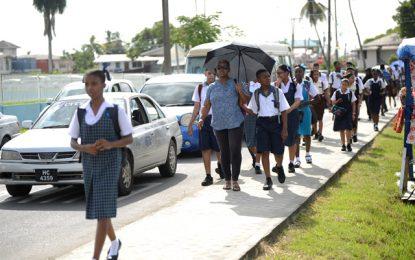 School doors reopen today