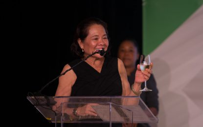 Liza Destiny marks new beginning for Guyana – First Lady