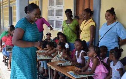 New Amsterdam Primary gets breakfast programme