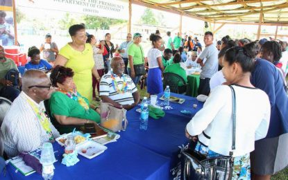 Port Kaituma outreach delivers