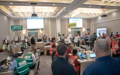 Over 100 participate in Emergency Oil Response Training