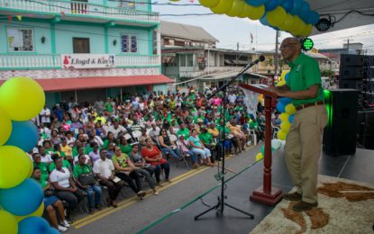 President Granger outlines five-point plan of action for urban revival in New Amsterdam