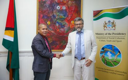 EU Ambassador pays courtesy call to Min. Norton