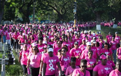 Thousands came out to support cancer patients and survivors