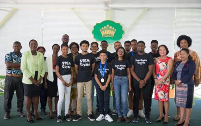 STEM Guyana team shines at First Global Robotic Competition