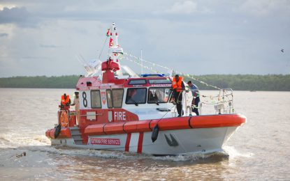 $292M Fireboat commissioned