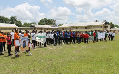 Department of Sport hosts 4th Circle Tennis Tournament in the Mining Town of Linden