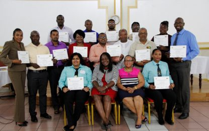 Education system boosted with 15 TVET Master Trainers