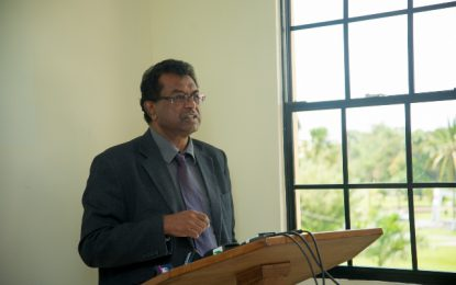 """We have to be on our guard"" against narcotics – Min Ramjattan urges Guyanese"