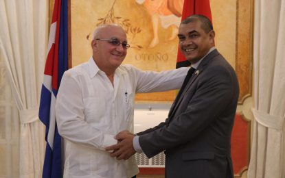 Guyana, Cuba commit to strengthening relations