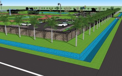 Regional Multiplex and Recreational Park taking shape in WCB