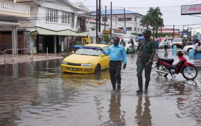 CDC monitoring flooding in city
