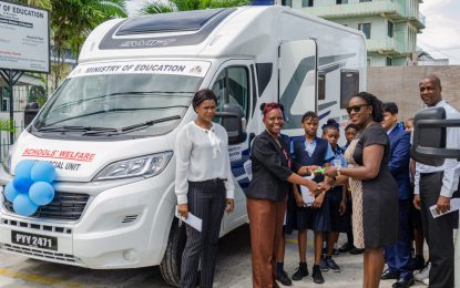 Education Minister commissions two more mobile counselling units