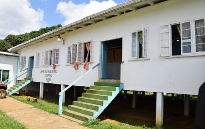 New Doctors' Quarters, extension of District Hospital for Kamarang