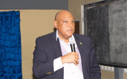Min. Trotman engages Buxton residents