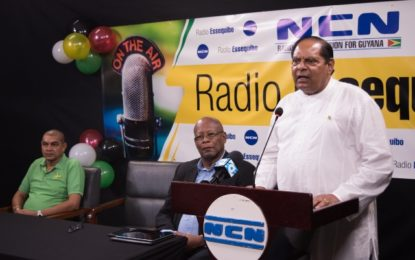 Live and Direct —Radio Essequibo 95.5FM begins transmission across Region 2