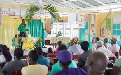 'Understand your rights' – AG Williams urge residents of Wakenaam