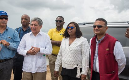 Diplomats visit Reg 5 communities recently affected by high tides