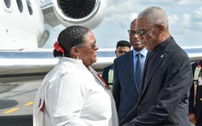 Barbados PM calls on President Granger