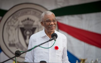 'Guyana belongs to you, it will be transformed and every citizen must benefit' – Pres. Granger tells students