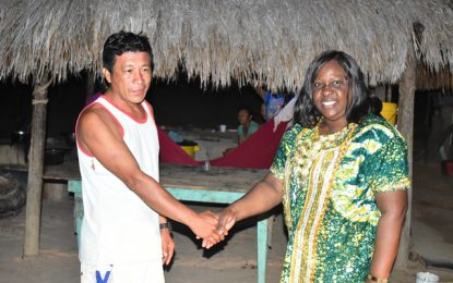 Tangible support for Yurong Paru