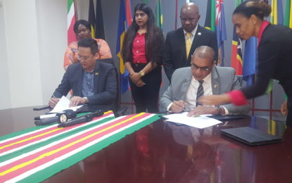 Guyana and Suriname sign historic Tourism Accord