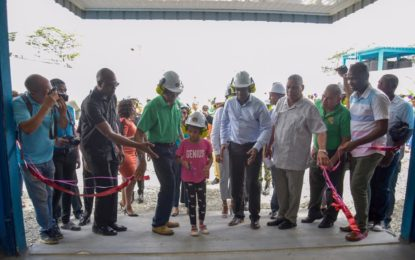President Granger assures energy security with new 3.3mw Bartica power plant