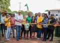 Newly restored Cashew Grove Park formally handed over