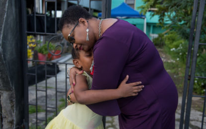 Min. Lawrence consoles grieving Mahaicony families