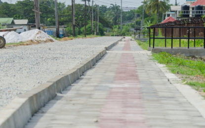 70% infrastructural works completed in Sophia under IDB programme