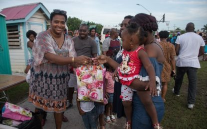 Min Ferguson brings Christmas cheer to city children