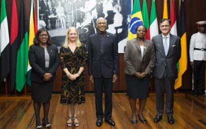 New Brazil Ambassador to Guyana accredited