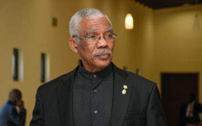 President calls for caution on roadways