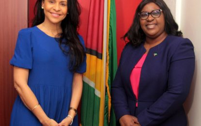Curaçaoan Minister of Economic Development Explores Trade Relations with Guyana