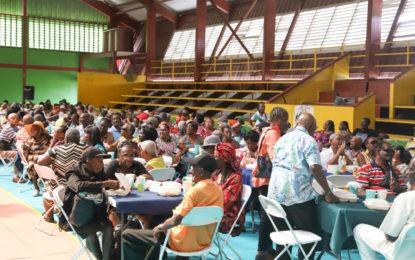 Over 550 seniors recognised