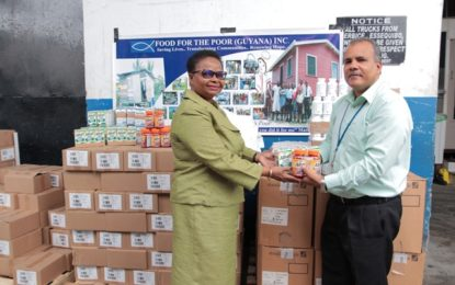 Health Sector continues to partner with Food For The Poor