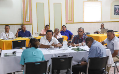 Financial Management training for National Toshaos Council