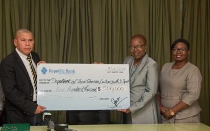 Steel Pan Builders Workshop gets $500,000 boost from Republic Bank