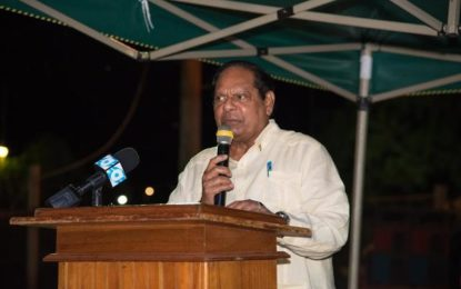 """Hold your government accountable""- PM Nagamootoo"