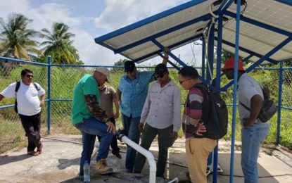 Three Villages in North Rupununi to get New Water Supply Systems