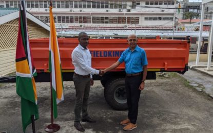 Bartica municipality gets new solid waste trailers