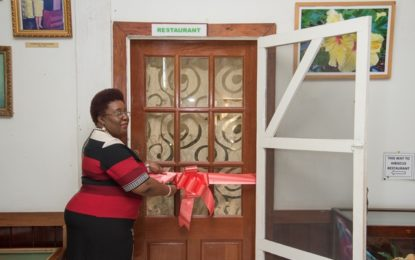 Carnegie re-opens Hibiscus Training Restaurant