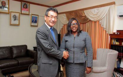 Ambassador of Japan Commends Focus on Renewable Energy